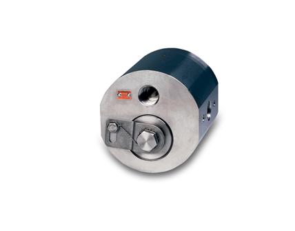 High press positive displacement flowmeter