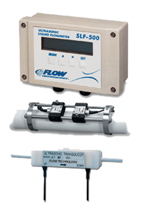 Ultrasonic Liquid Clamp-on Flow Meters - Industrial Piping