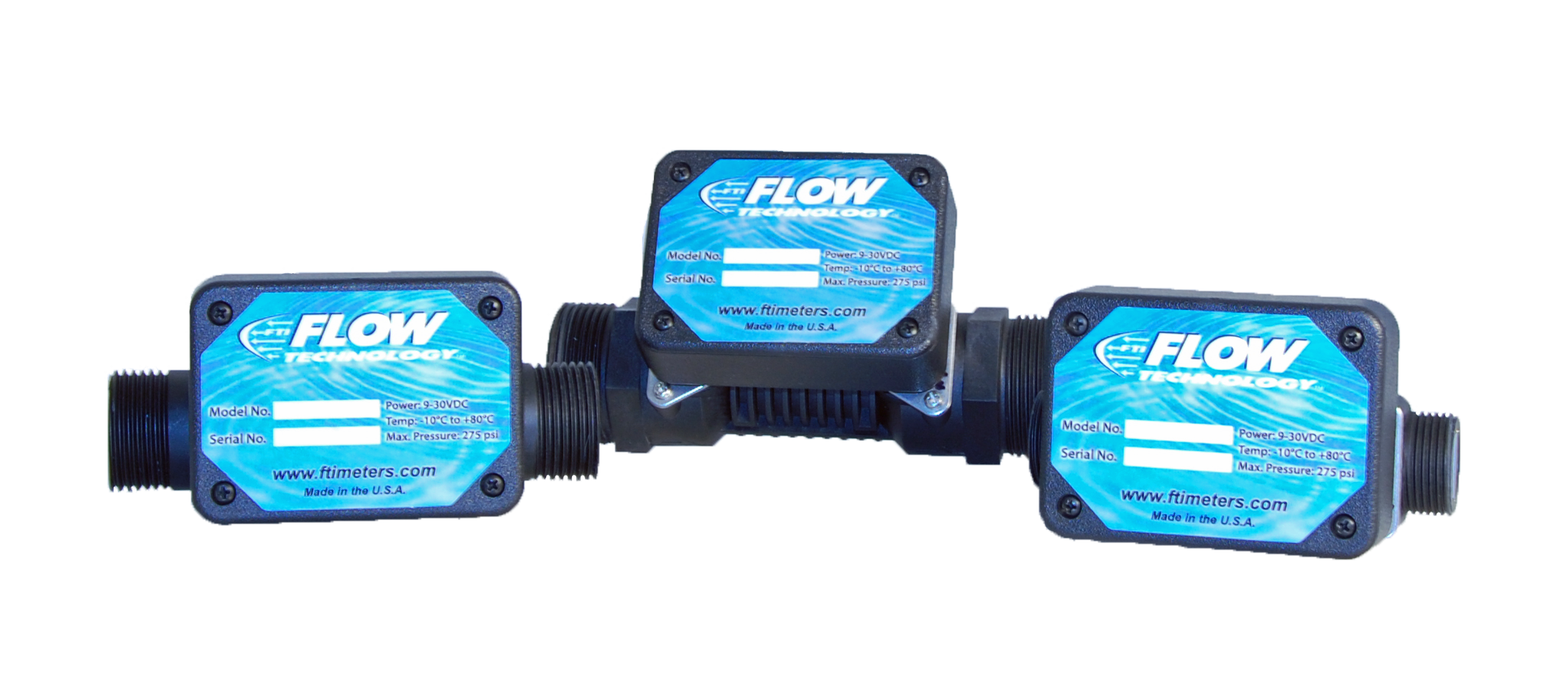 QEM Series of ultrasonic in-line flow meters