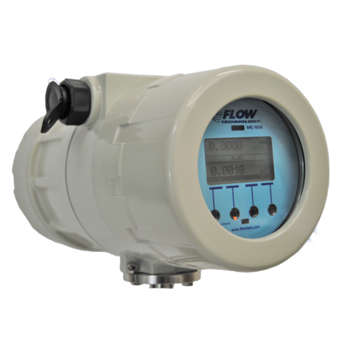 MC 608 A/B Transmitter from Flow Technology for measuring and billing functions