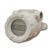 Total & rate display for flow meters