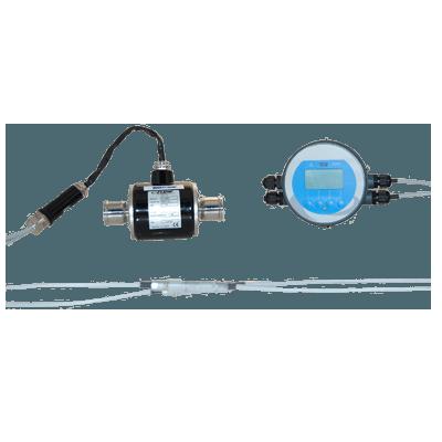 Flow meter for engine coolant measurement